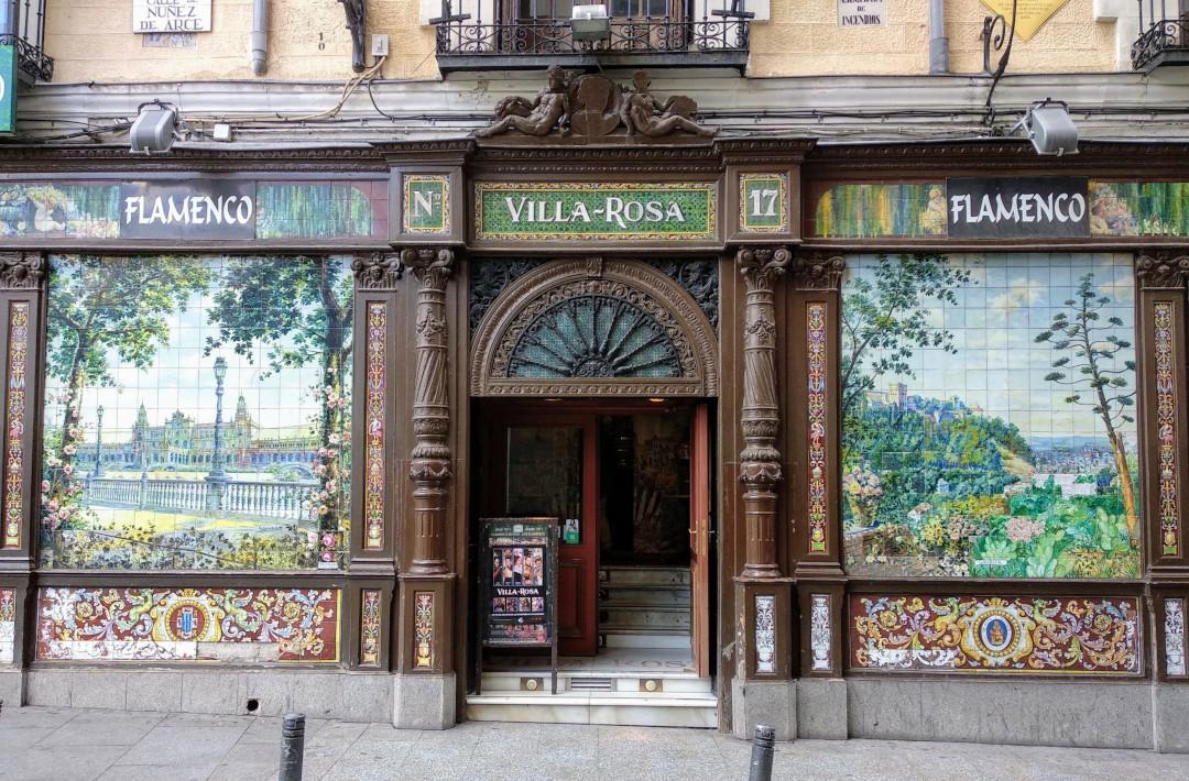 The Villa-Rosa in Madrid