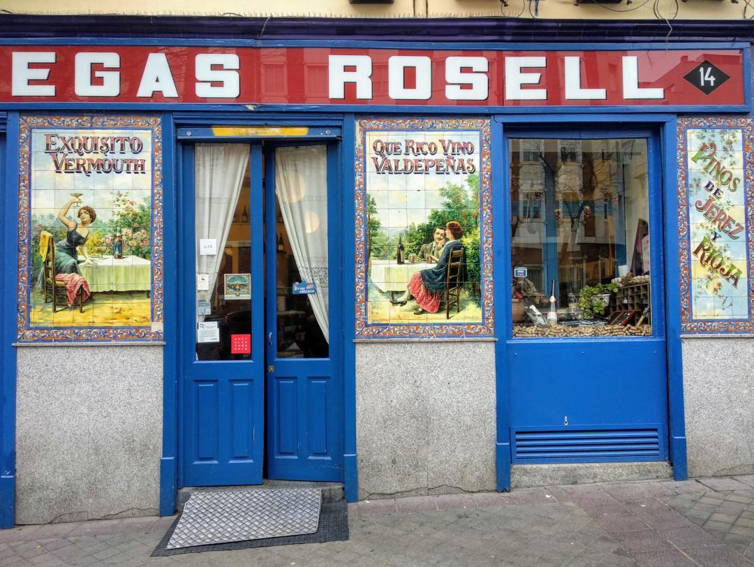 Bodegas Rosell bar in Madrid